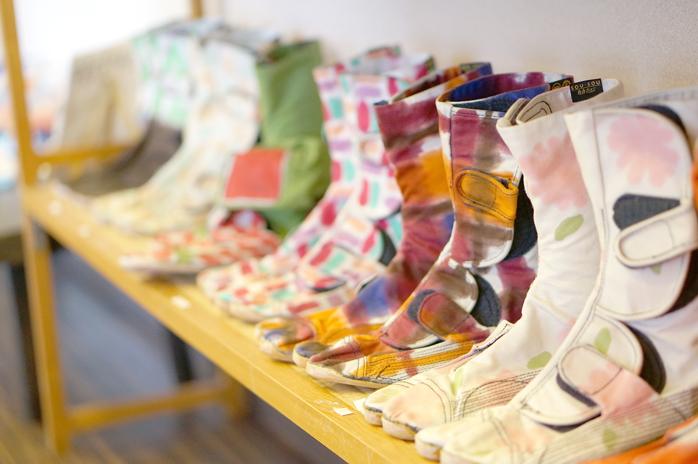 まり木綿の足袋