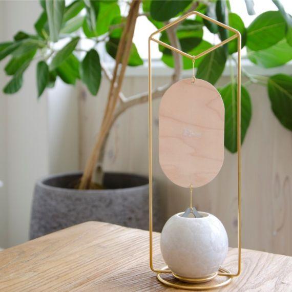 【京焼-清水焼】陶葊 涼の音 置型風鈴