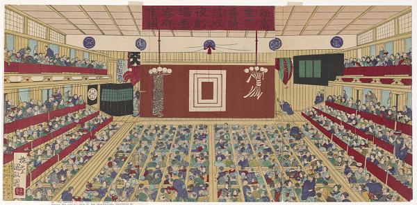 歌舞伎劇場浮世絵