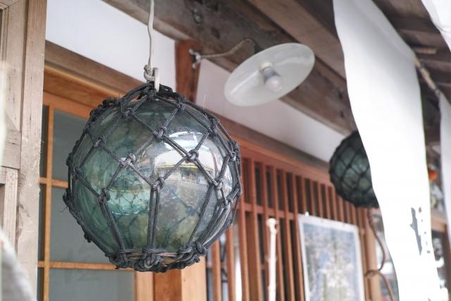 小樽のガラス浮き玉
