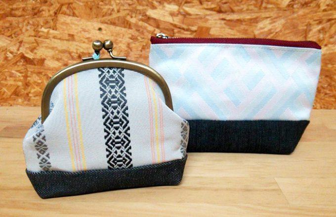 博多織職人、新海佳織さんの作品