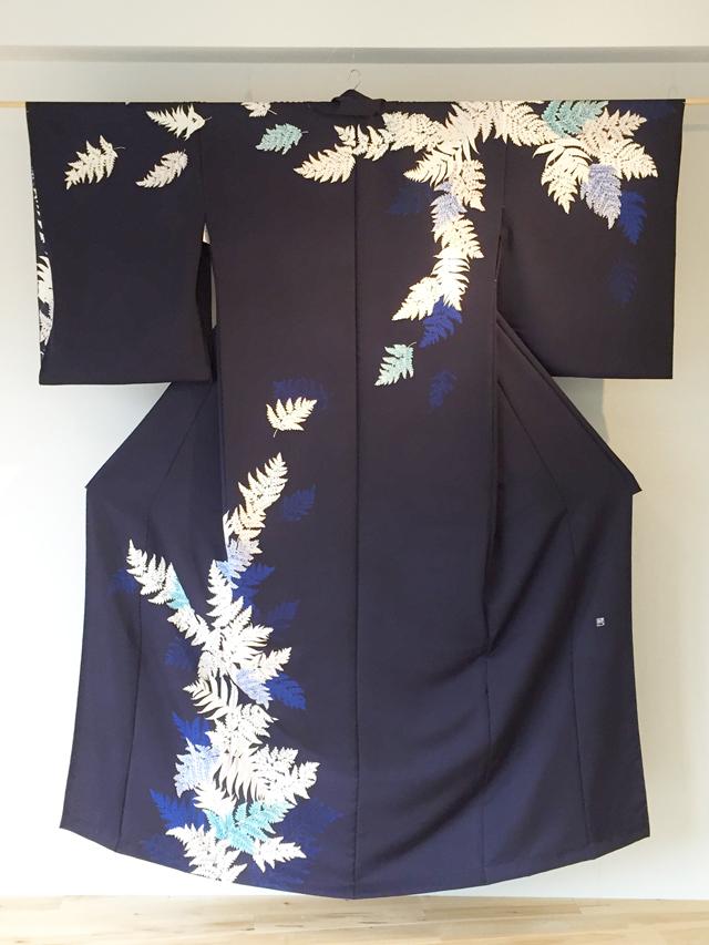 【伝統を繋ぐ人々】東京手描友禅/桑原牧子さんの作品5