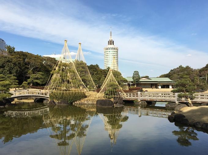 幕張の日本庭園、見浜園