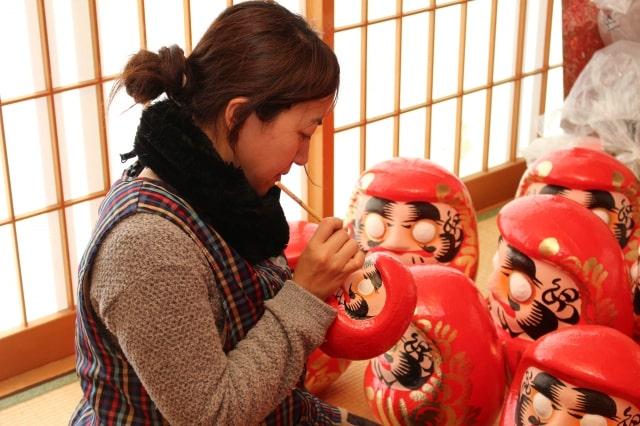 白河だるま|福島県の伝統工芸品